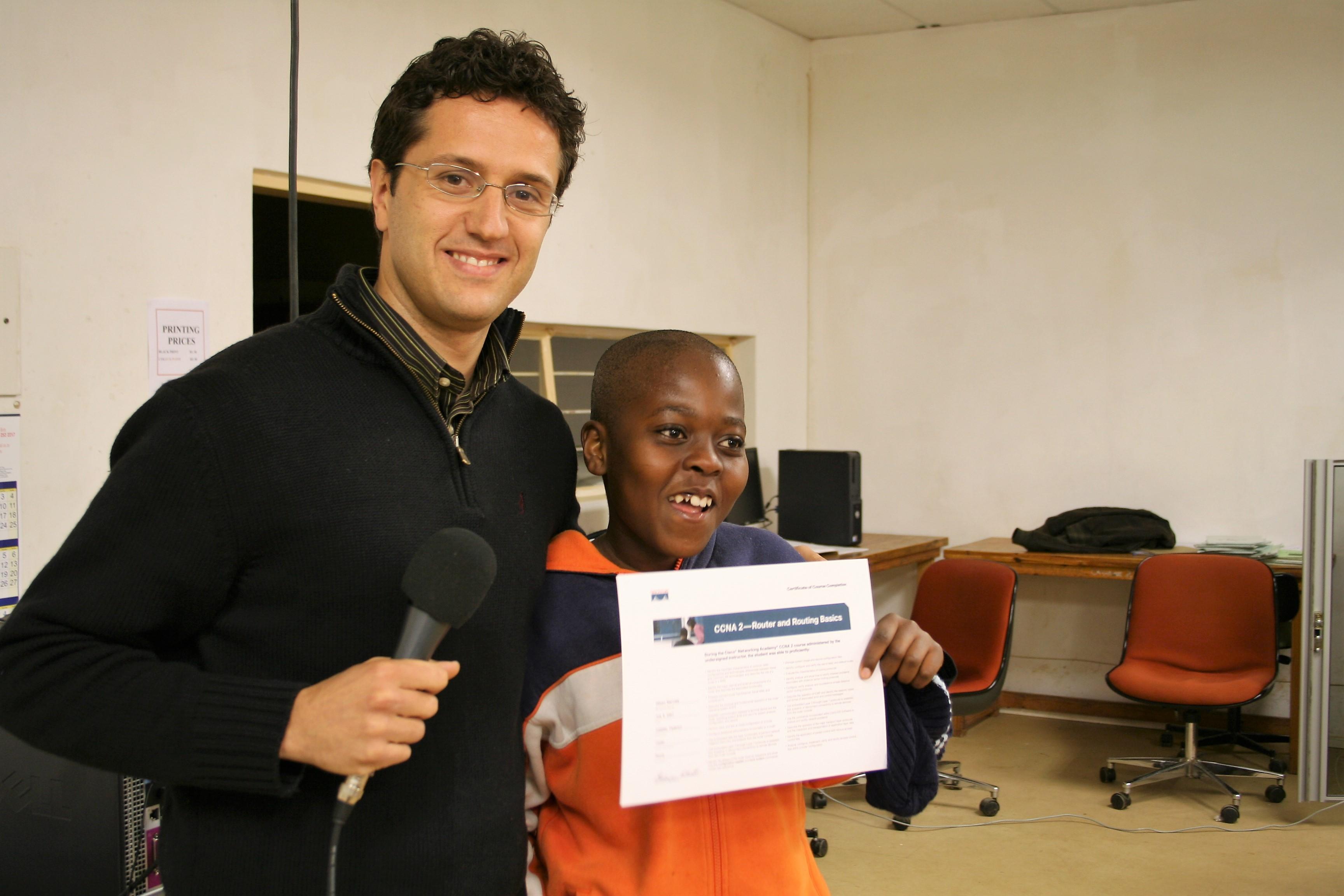Federico - Vincix 4 Africa - Mmakau