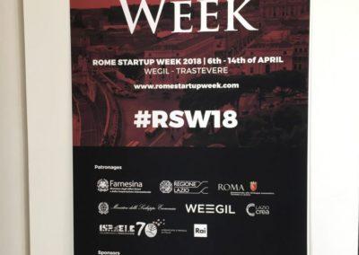 Rome Startup Week 18