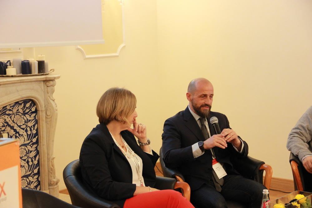 Clelia Siniscalco (BNL) & Luigi Greco (SNAITECH)