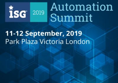 ISG Automation Summit 2019