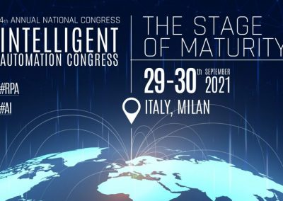 INTELLIGENT AUTOMATION CONGRESS – THE STAGE OF MATURITY